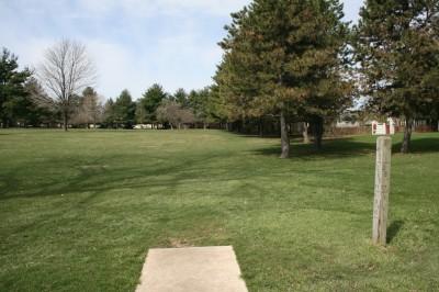 Washington Park, Main course, Hole 3 Tee pad