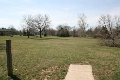 Washington Park, Main course, Hole 2 Tee pad