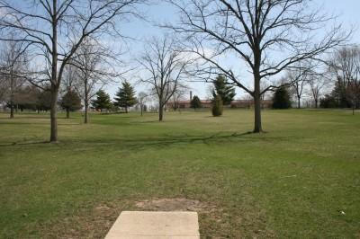 Washington Park, Main course, Hole 17 Tee pad
