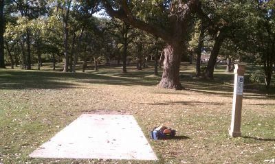 Castaldo Park, Main course, Hole 8