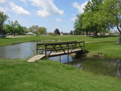 Lamar Park, Main course, Hole 4 Alternate pin (reverse)