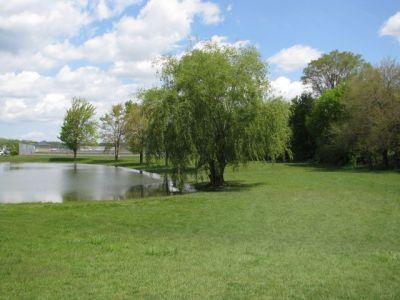 Lamar Park, Main course, Hole 9 Tee pad