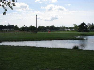 Lamar Park, Main course, Hole 4 Tee pad