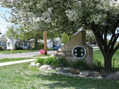 Lamar Park, Main course, Hole 1