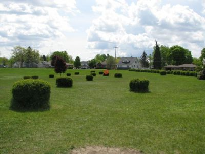 Lamar Park, Main course, Hole 6 Tee pad