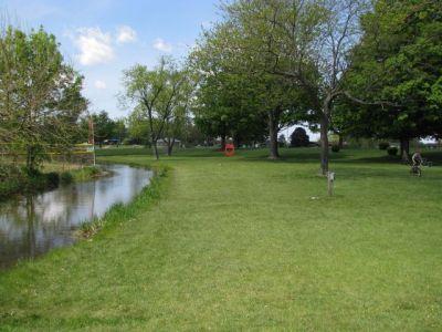 Lamar Park, Main course, Hole 3 Tee pad