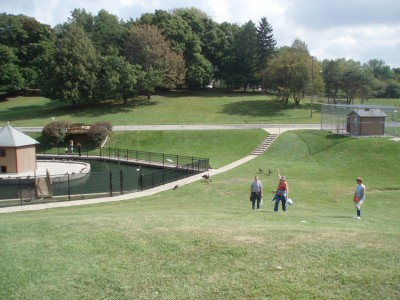 Lake Shore Park, Main course, Hole 14 Long approach