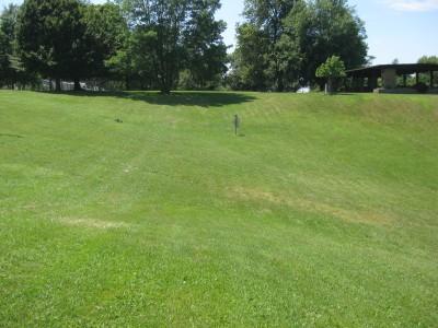 Lake Shore Park, Main course, Hole 15 Midrange approach