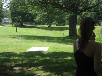 Lake Shore Park, Main course, Hole 15 Long tee pad