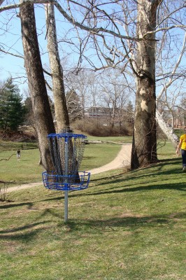 Ohio University, Main course, Hole 3 Reverse (back up the fairway)