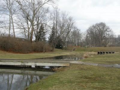 Ohio University, Main course, Hole 8 Short tee pad