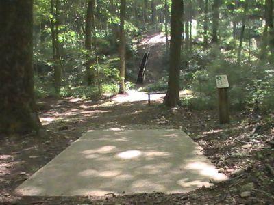 Pike Lake State Park, Main course, Hole 3 Tee pad
