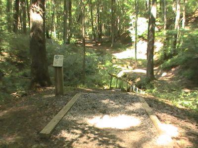 Pike Lake State Park, Main course, Hole 12 Long tee pad