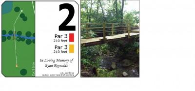Mary Rutan, Main course, Hole 2 Midrange approach
