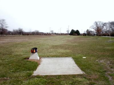 Carter Park, Main course, Hole 3 Tee pad
