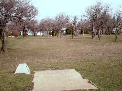 Carter Park, Main course, Hole 10 Tee pad