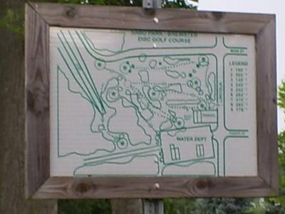Sabo Park, Main course, Hole 1 Hole sign