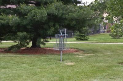 Recreation Park, Main course, Hole 9 Putt