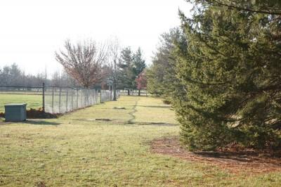 Recreation Park, Main course, Hole 1 Short tee pad