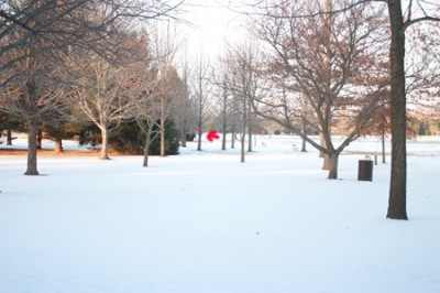 Recreation Park, Main course, Hole 4 Long tee pad