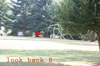 Recreation Park, Main course, Hole 8 Reverse (back up the fairway)