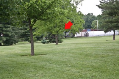 Recreation Park, Main course, Hole 9 Short tee pad