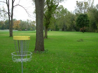 Aumiller Park, Main course, Hole 14 Reverse (back up the fairway)