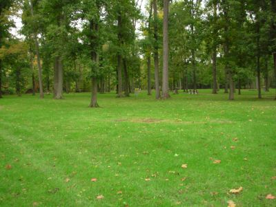 Aumiller Park, Main course, Hole 15 Midrange approach