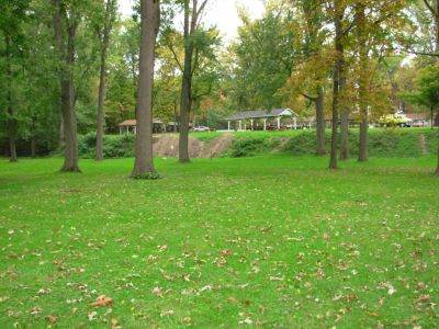 Aumiller Park, Main course, Hole 17 Reverse (back up the fairway)
