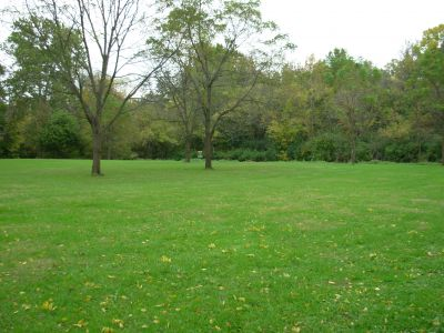 Aumiller Park, Main course, Hole 12 Long approach