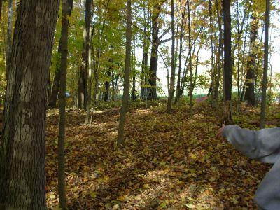 Aumiller Park, Main course, Hole 2 Short approach