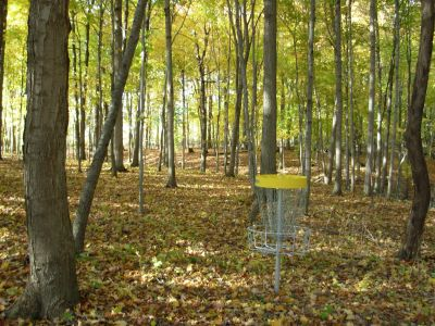 Aumiller Park, Main course, Hole 7 Reverse (back up the fairway)