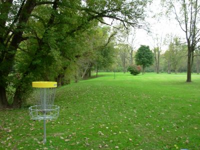 Aumiller Park, Main course, Hole 13 Reverse (back up the fairway)