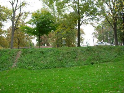 Aumiller Park, Main course, Hole 18 Midrange approach