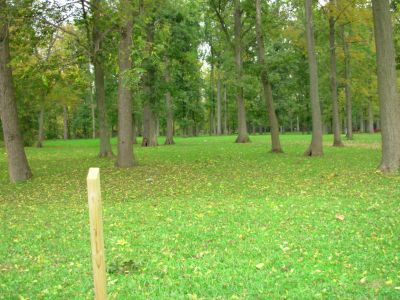 Aumiller Park, Main course, Hole 15 Tee pad
