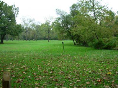 Aumiller Park, Main course, Hole 12 Long tee pad