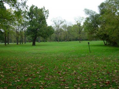 Aumiller Park, Main course, Hole 12 Tee pad