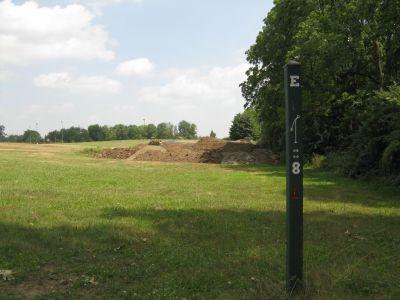 Eastern Michigan University, Main course, Hole 8 Long tee pad