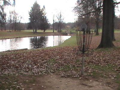 Arboretum-Spiker Park, Main course, Hole 14 Reverse (back up the fairway)