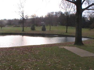 Arboretum-Spiker Park, Main course, Hole 7 Tee pad