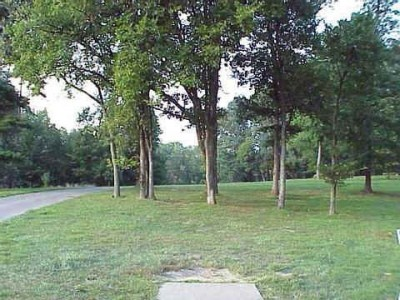 Mt. Airy Forest, Main course, Hole 5 Tee pad