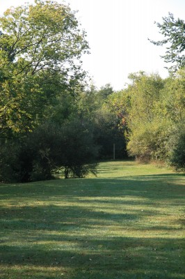 Rolling Hills County Park, Main course, Hole 2 Long approach