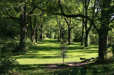 Rolling Hills County Park, Main course, Hole 1 Reverse (back up the fairway)