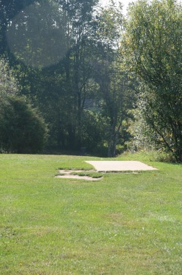 Rolling Hills County Park, Main course, Hole 6 Long approach