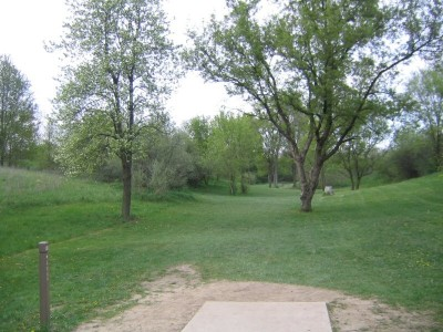 Rolling Hills County Park, Main course, Hole 3 Tee pad