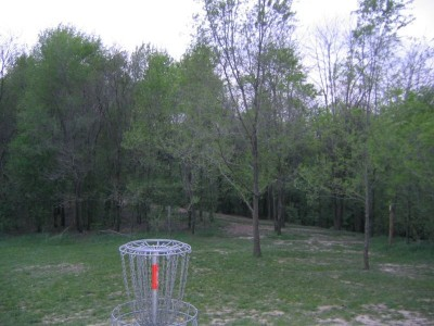 Rolling Hills County Park, Main course, Hole 14 Reverse (back up the fairway)