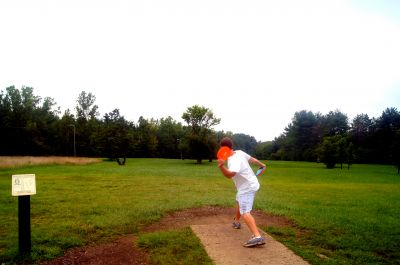 Brent Hambrick Memorial, Main course, Hole 6 Tee pad