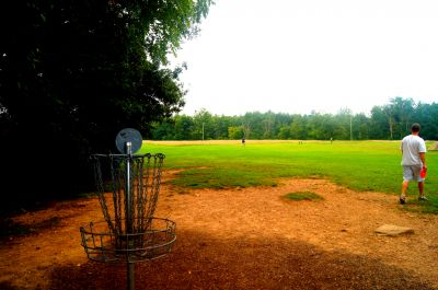 Brent Hambrick Memorial, Main course, Hole 3 Reverse (back up the fairway)