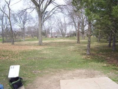 Belmont Park, Main course, Hole 12 Tee pad