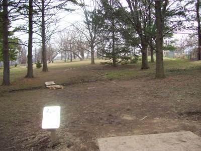 Belmont Park, Main course, Hole 2 Short tee pad